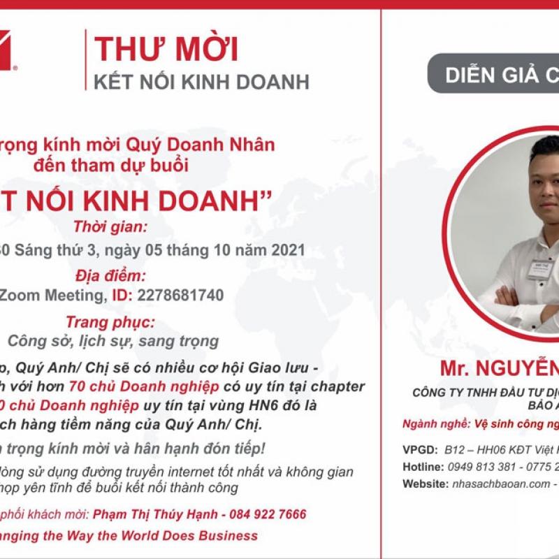 Diễn Giả Nguyễn Anh Thế - Vệ Sinh Công Nghệ - Diệt Côn Trùng - 05/10/2021