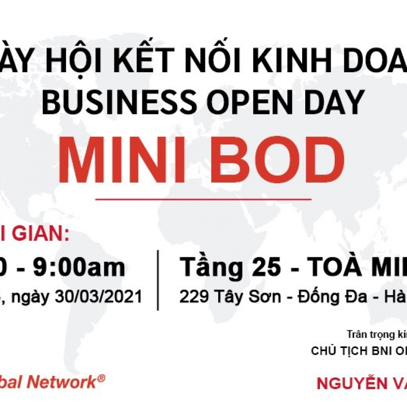 OK Chapter's BUSINESS OPENING DAY - Ngày hội Kết Nối Kinh Doanh Mở